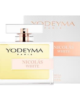Yodeyma nicolas white fragrance bottle 100ml